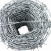 electro- galvanized Barbed Wire