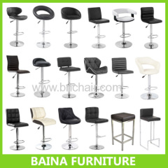 bar stool bar chair leather bar stool
