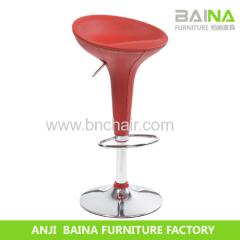 low back leather bar stool BN-3001V