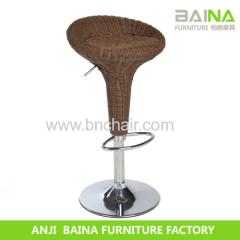 modern acrylic leather bar stool BN-5001