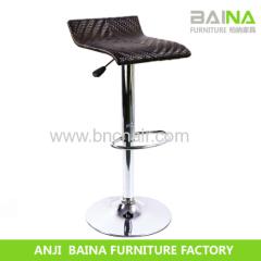 modern acrylic leather bar chair BN-5006