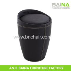 pvc leather ottoman BN-M002