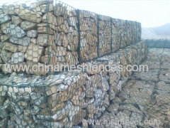 hexagonal gabion wire mesh gabion box