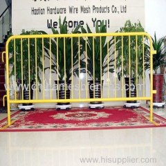 Hot dipped galvanized crowd control fence Crowd control barriers for sales Low price crowd control fence