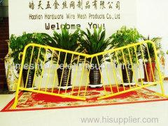 barriera di polvere rivestimento metallico folla controllo