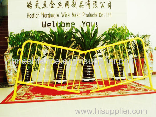 Crowd control stoppers crowd control barrier temporary fence aluminum crowd control barrier