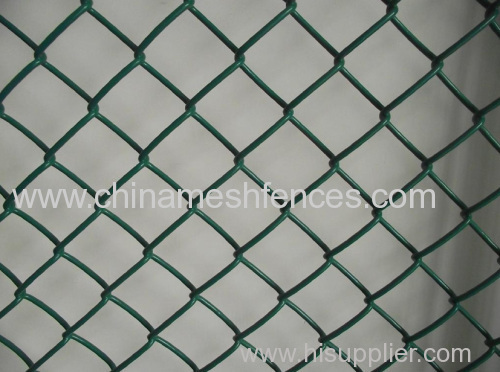 PVC coated chain link fencing ,chain link fence