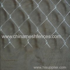 electro-galvanized chain link fence anping manufacturer