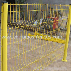2500mm Length Powder Coating Welded Wire Fence