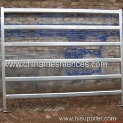 steel oval pipe fencing panel for livestock anping manufacturer