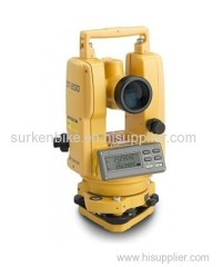 Surya Surveying Pte Ltd Topcon DT-205 5 Waterproof and Dustproof Digital Theodolites 60212