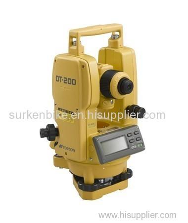 Surya Surveying Pte Ltd Topcon DT-209L Waterproof Digital Theodolites with Laser Pointer 60217