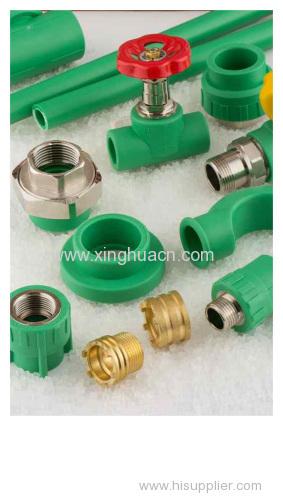 PP-R plastic fittings long thread plug
