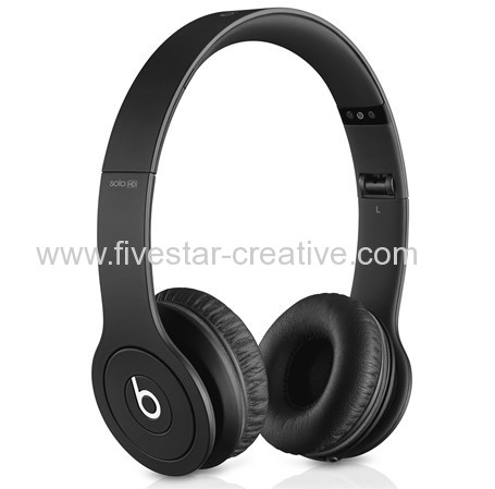 Beats by Dr.Dre Beats Solo HD 2.0 Solo V2.0 New Headphones Drenched in Matte Black