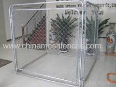 hot-dipped galvanized chain link dog kennel