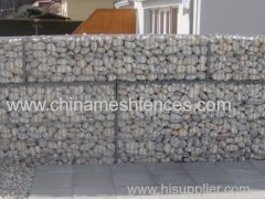 welded gabion wall stone basket wall welded cage rock wall welded gabion wire mesh