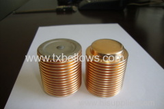 Bronze Bellows for pressure gauges