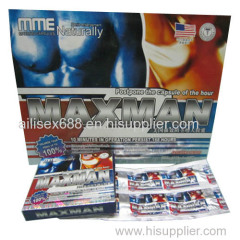 MME Naturally MAXMAN 100% sex enhancer freight