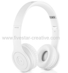 Beats Solo HD 2.0 Over Ear Headphones Drenched in White