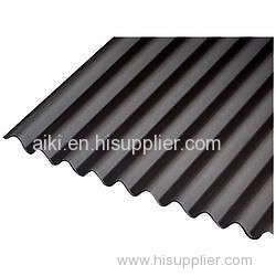 Bitumen Corrugated Weatherproof Roof Sheet Asphalt Corrugated Waterproof  Roof Panel Asphalt Weatherproof Roofing Sys
