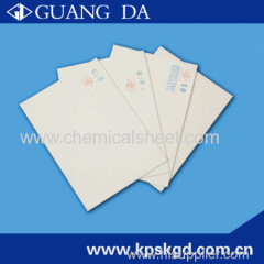 2.0mm chemical sheet for shoe making
