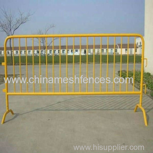 Galvanized temporary fence Crowd control barriers Powder coating temporary fence Crowd control fence