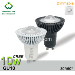 gu10 dimmable led cree XT-E 10w