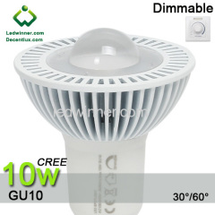 dimmable led gu10 CREE XH-G 10w