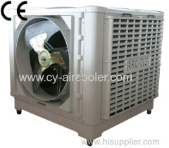 18000 m3/h new side discharge axial air cooler