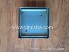 Stainless steel tile insert drain