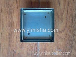 Stainless steel tile insert floor drain