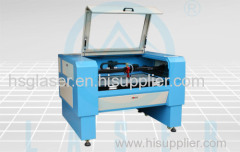 60-80W new design CCD camera embroidery laser cutting machine HS-C9060