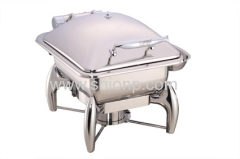 Half size Hydraulic induction chafing dish
