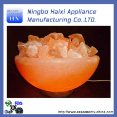 Chinese PINK salt rock lamp