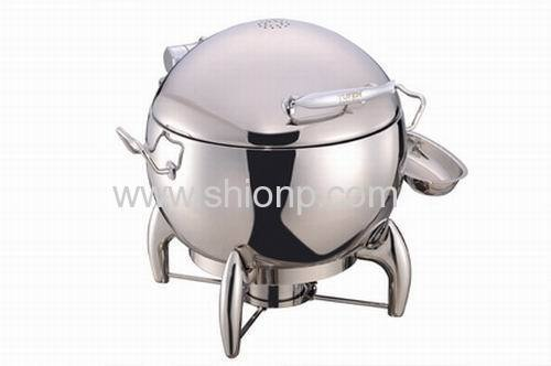 Stainless steel round Hydraulic Induction Soup Station