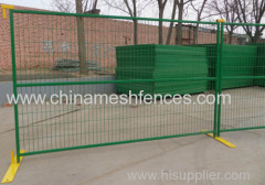 Green Color Welded Mesh Temporary Fence Panels