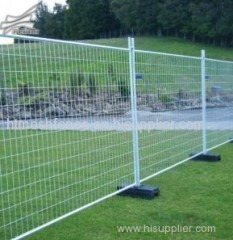 retractable construction temporary fencing