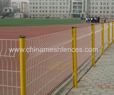 Playground separator boundary wire fence size design and colour design