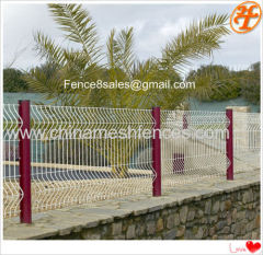 Residence Wire Metal Fence