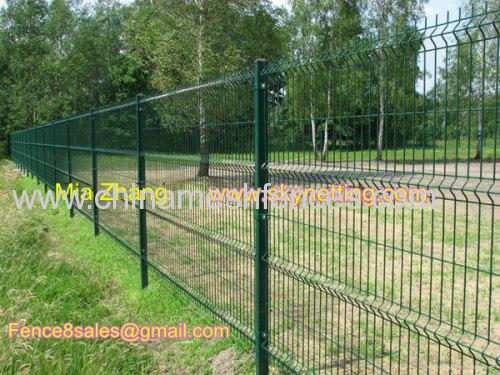 Fabbrica diretta saldati recinzione in rete metallica polvere di PVC ...