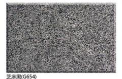 Polished Black Granite G654