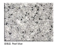 Polished Natural Pearl blue Granite