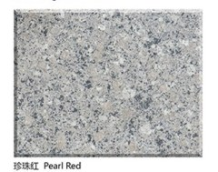 Polished NaturalPearl Red Granite