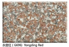 Chinese Granite Yongding Red G696