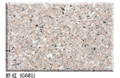 promotion shrimp red granite G681 tiles and slabs cheap pink granite