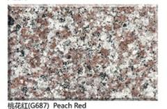 China pink granite G687 peach red