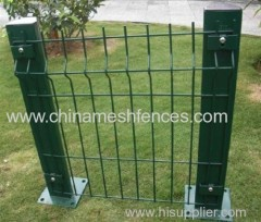 PVC coated euro fence panel powder coated euro fence panel