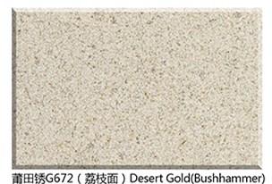 G672 Desert Gold Granite