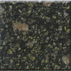Polished Peacock Green Granite