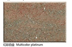 Symphony of Platinum Red Granite granite